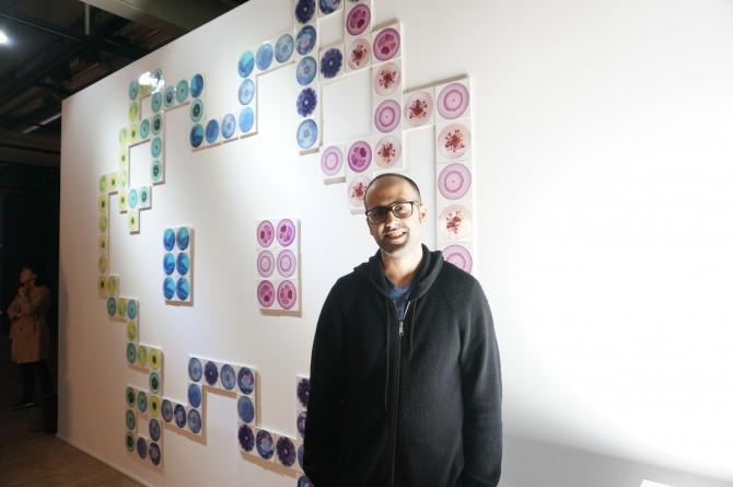 박테리아 증식 패턴을 작품으로 승화시킨 미국 콜롬비아대학교 의공학 조교수 탈 다니노와 그의 작품